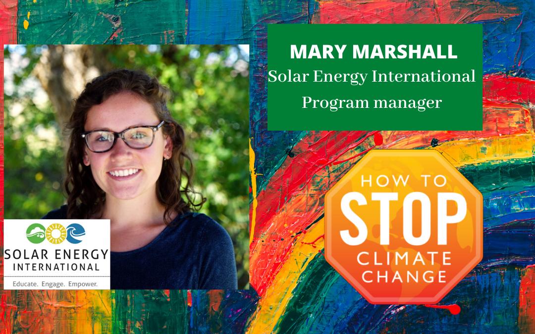 Mary Marshall – Solar Energy International
