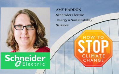 Focus on Climate Change – Amy Haddon – Schneider Electric
