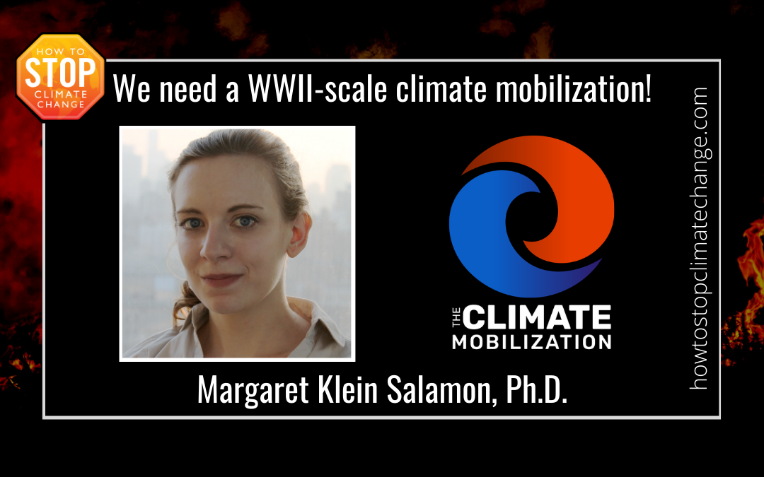 Climate Crisis: We Need a World War II-Scale Mobilization – Margaret Klein Salamon